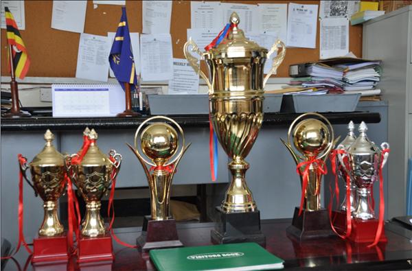 TCA sports and athletics trophies